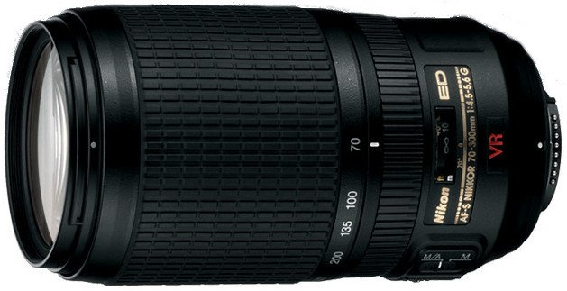 AF-S VR Zoom NIKKOR 70-300mm f/4.5-5.6G IF-ED Lens