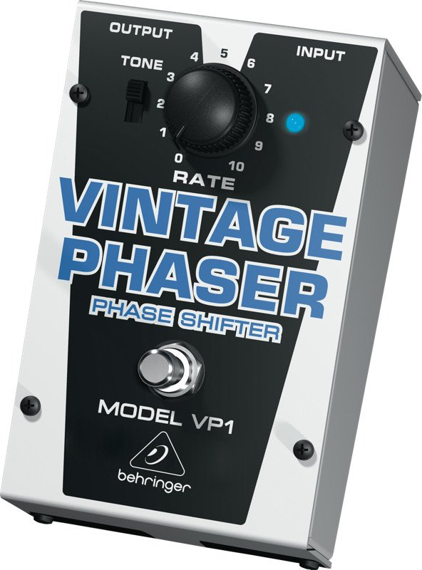 Vintage-Style Phase Shifter Effects Pedal