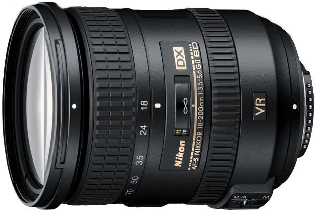 AF-S DX NIKKOR 18-200mm f/3.5-5.6G VR II Zoom Lens