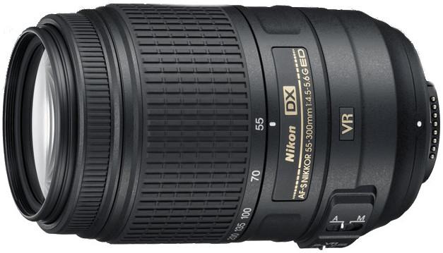 AF-S DX NIKKOR 55-300mm f/4.5-5.6G ED VR Zoom Lens