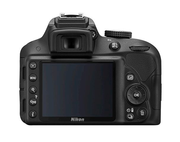 24.2MP DSLR Camera in Black with AF-S DX NIKKOR 18-55mm f/3.5-5.6G VR II Zoom Lens