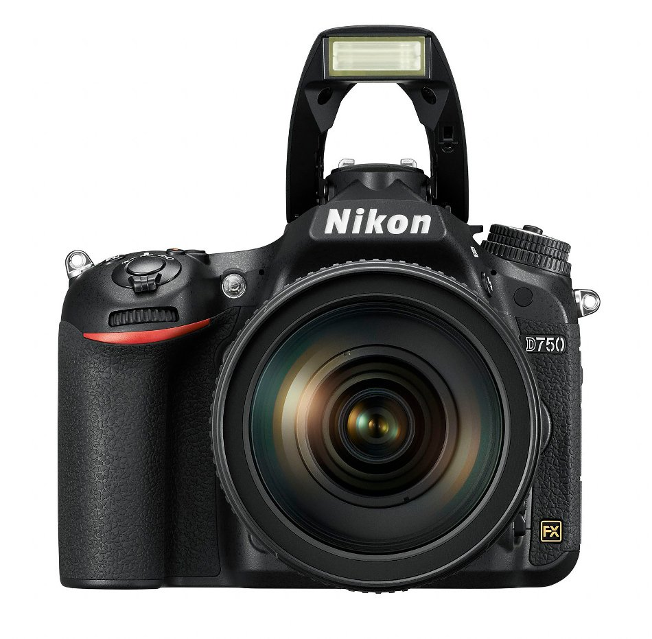24.3MP D750 FX-Format DSLR Camera with AF-S NIKKOR 24-120mm f/4G ED VR Lens