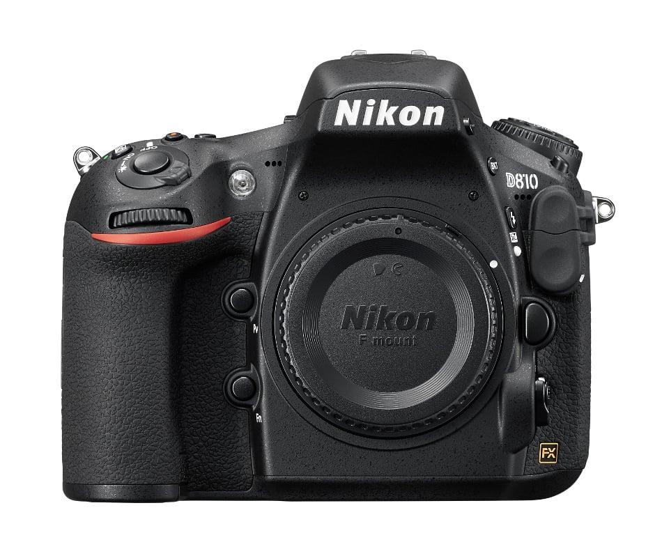 D810 FX-Format 36.3 Megapixel HD-SLR Camera Body