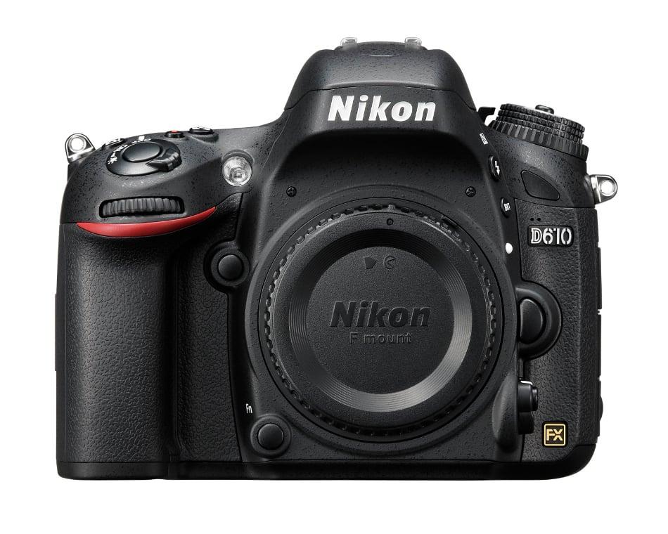 D610 FX-Format 24.3 Megapixel HD-SLR Camera Body