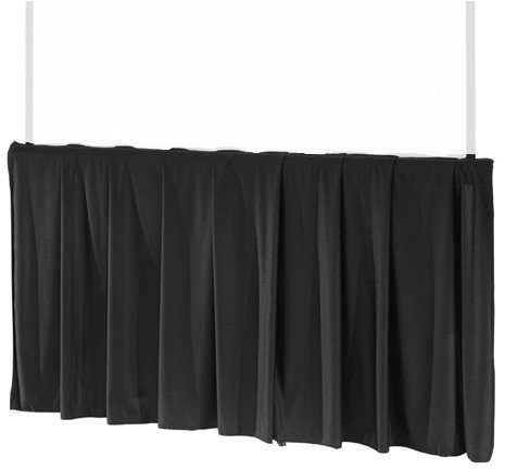 """Tripod Skirt in Black for 84"""" Wide Screens"""