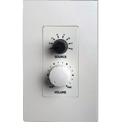5 Source Wall-Mounted Remote Control for CORE System