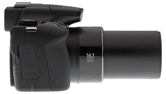 16.1 MP 65x Optical Zoom DSLR Camera in Black