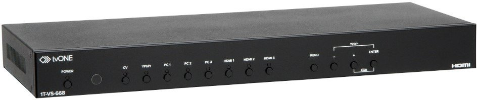 Universal Scaler with HDMI plus Audio Embedding and De-embedding
