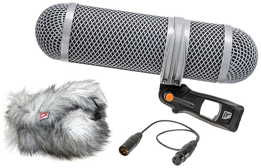 Super-Shield Shotgun Microphone Windshield and Shock Mounting Kit, Small