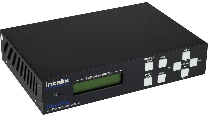 5 Input x 2 Output Presentation Switcher