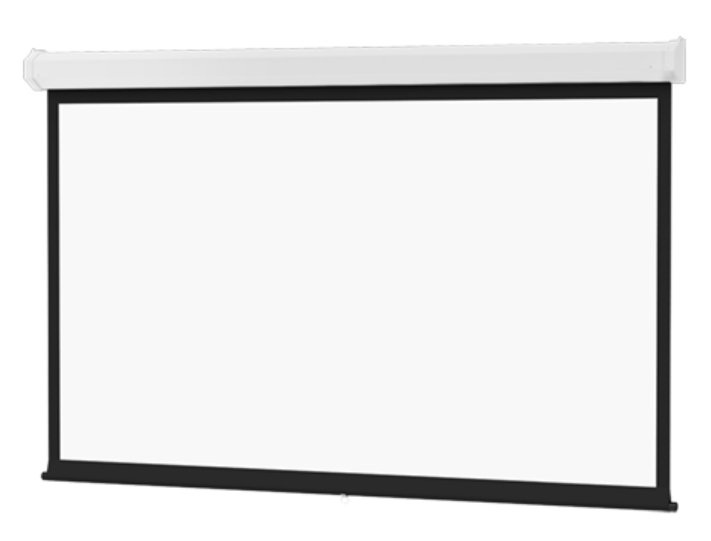"""109"""" 16:10 Wide Format Model C Manual Screen with Matte White Surface"""