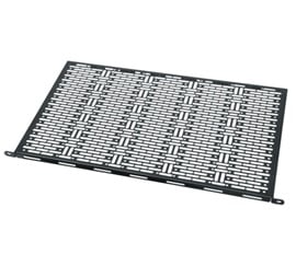 Middle Atlantic Products MS-11-4  Set of 4 Rackmount Shelves for Small Devices in Black MS-11-4