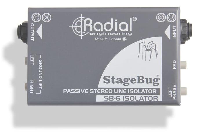 Passive Stereo Line Isolator