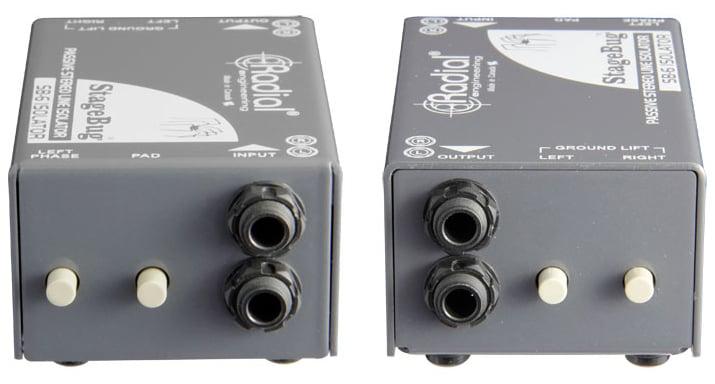 Radial Engineering StageBug SB-6 Passive Stereo Line Isolator STAGEBUG-SB6
