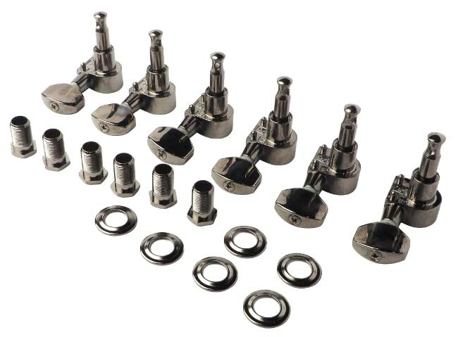Set of Black Nickel Diecast Tuners