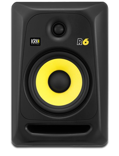 "KRK R6 6"" 2-Way Passive Studio Monitor R6G3"