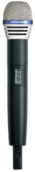 Handheld Transmitter with DM 960 S Microphone Capsule