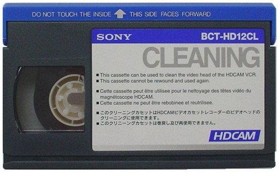 HDCam Small-Size Cleaning Cassette