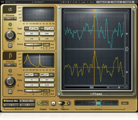 Waves InPhase Phase Correction Software Plugin INPHTDM