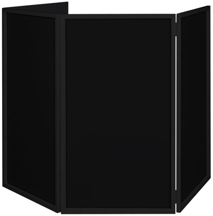 4 Panel Black Facade