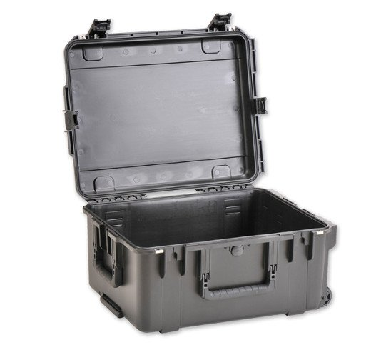 "22"" x 17"" x 12"" Molded Mil-Spec Waterproof Case with Wheels"