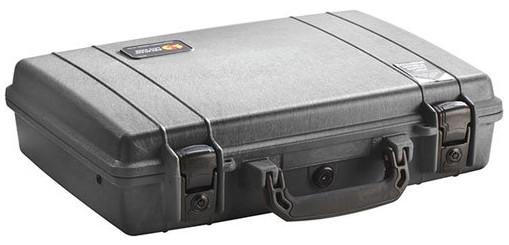 Black Laptop Case with Foam Interior