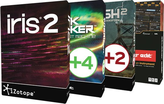 Complete Creative Tools Bundle - Iris 2 , BreakTweaker Expanded + 4 Expansions, Trash 2 + 2 Expansions, and Stutter Edit