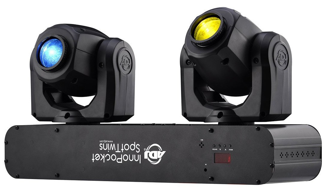 Compact Dual Moving Head Fixtures