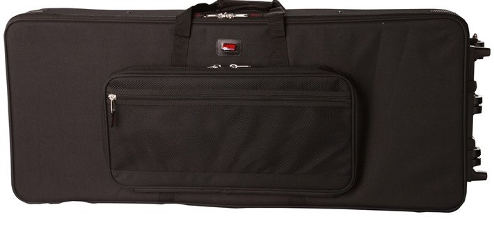 Lightweight Hard Case with Wheels for Extra Long 88-Note Keyboards
