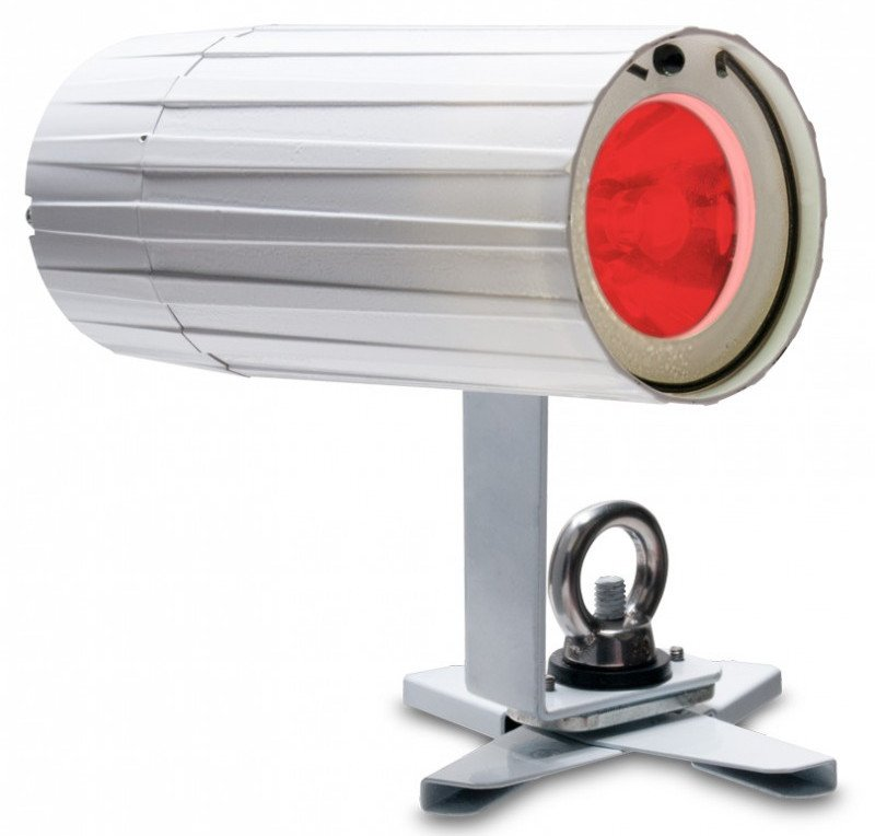 Battery Powered 3W RGBA LED Pinspot in White