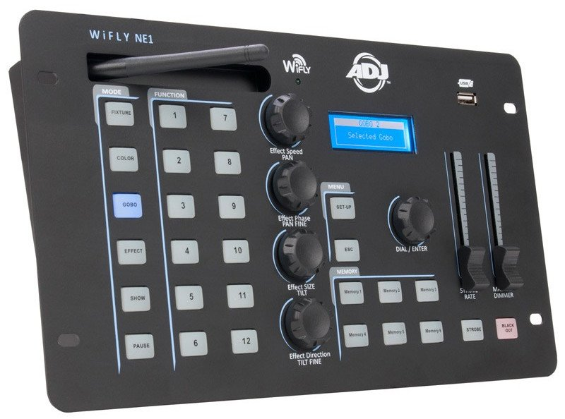 Advanced DMX Controller with WiFLY