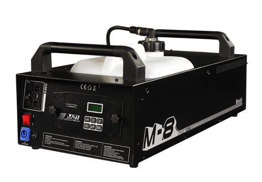 1800W High Volume Stage Fog Machine with Built-In DMX