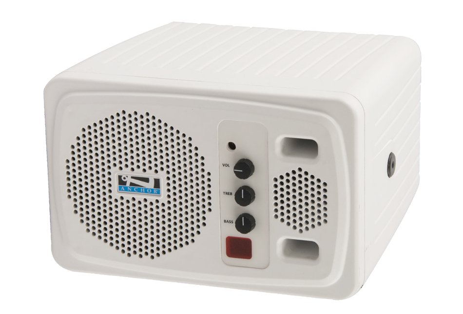 Compact Portable AC Powered PA System with Wireless Receiver, Bodypack Transmitter and Collar Microphone