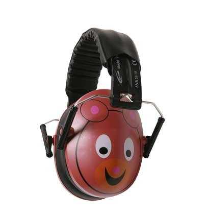 Hush Buddy Hearing Protection for Kids with Bear Motif