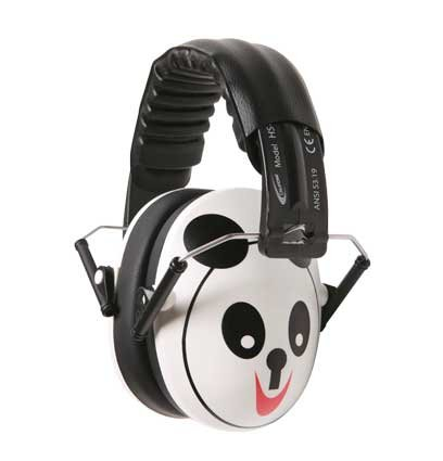Hush Buddy Hearing Protection for Kids with Panda Bear Motif