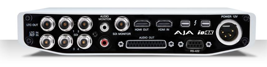 4K & HD I/O for Thunderbolt 2