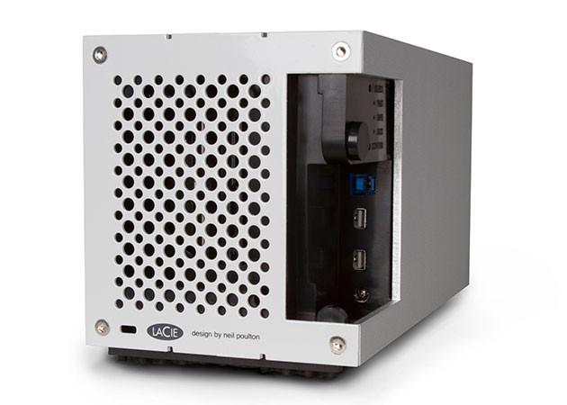 8TB USB 3.0/Dual Thunderbolt 2 RAID External Hard Drive