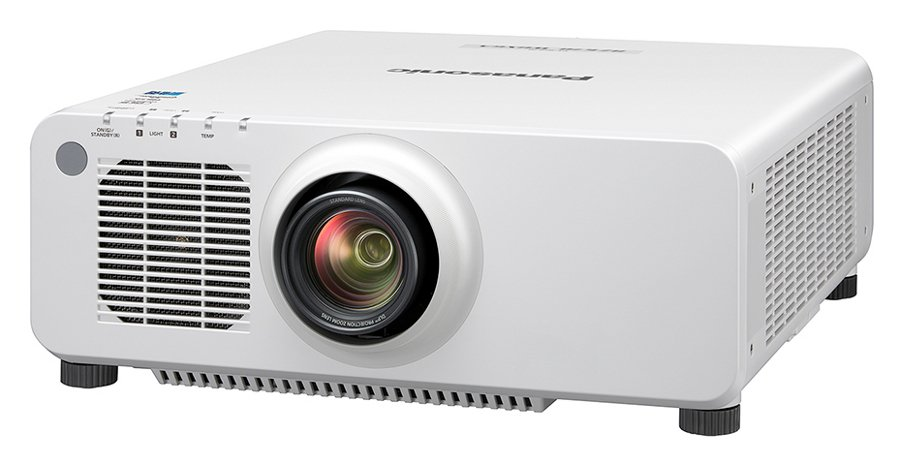 6500 Lumens WUXGA 1-Chip DLP Laser Light Projector in White without Lens