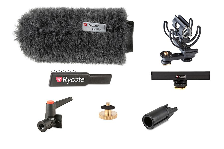 Classic-Softie All-In-One Suspension and Windshield Kit for Shotgun Microphones