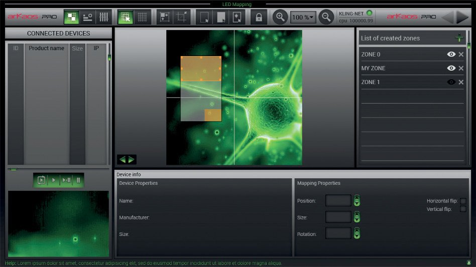 Mac and PC Designer Software for KlingNet Products by ADJ