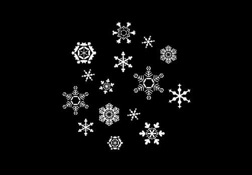 Snowfall 2 Pattern Steel Gobo