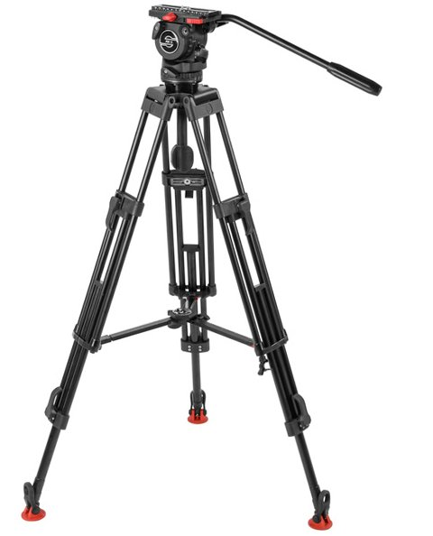 FSB 6/2 HD M Tripod System with Fluid Head and Mid-Level Spreader