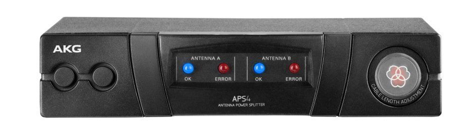 Wide-Band UHF Active Antenna and Power Splitter for AKG Recievers, without Power Supply