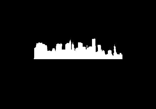 New York Skyline Image Steel Gobo