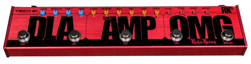 Ritchie Kotzen Signature Multi Effects Pedal with SansAmp