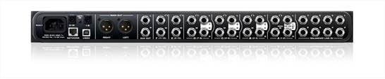 24x16x8 Monitor Mixer & USB/AVB Audio Interface with 6-Channel Headphone Amplifier