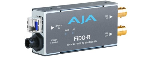 1 Channel LC Optical Fiber to SD/HD/3G-SDI Mini Converter with Dual SDI Outputs and Power Supply
