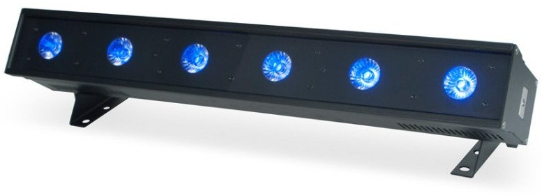 1/2m 6x12W RGBAW+UV LED Bar Luminaire
