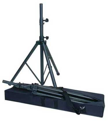 Heavy Duty Tripod Speaker Stand with Carry Bag for PowerPro PA Systems