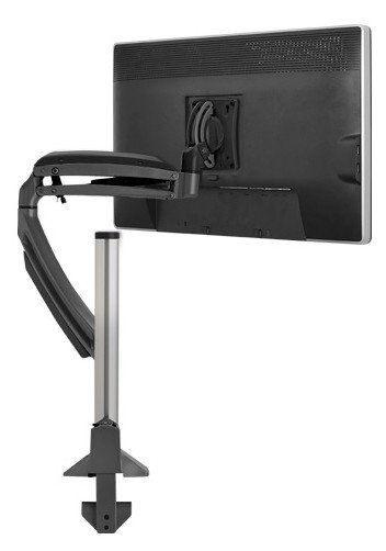 Kontour™ K1C Dynamic Column Single Display Monitor Mount Arm